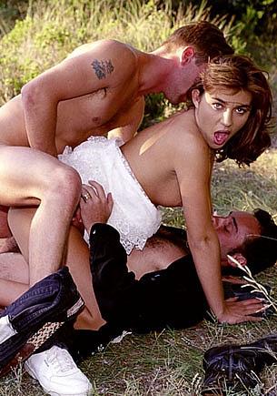 Krisztina Schwartz, The Bride has an Anal Threesome