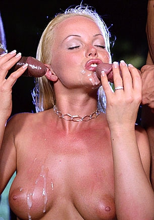 Silvia Saint in an Interracial Anal Orgy