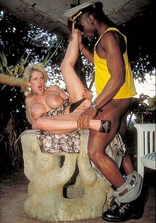 Busty Sally Gets a Big Black Cock
