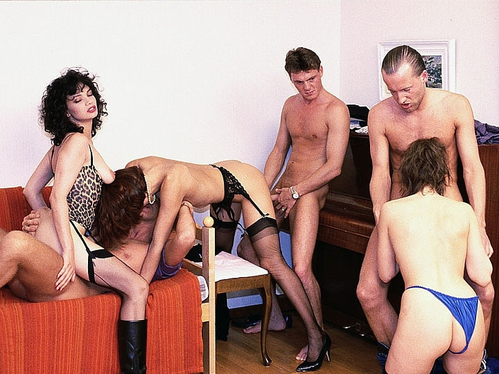 Four French Babes Have an Anal Orgy in their Swedish Holidays