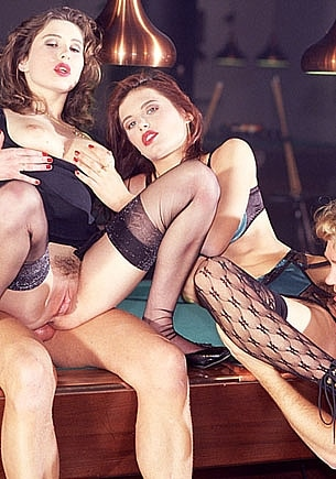 Orgy on the Pooltable