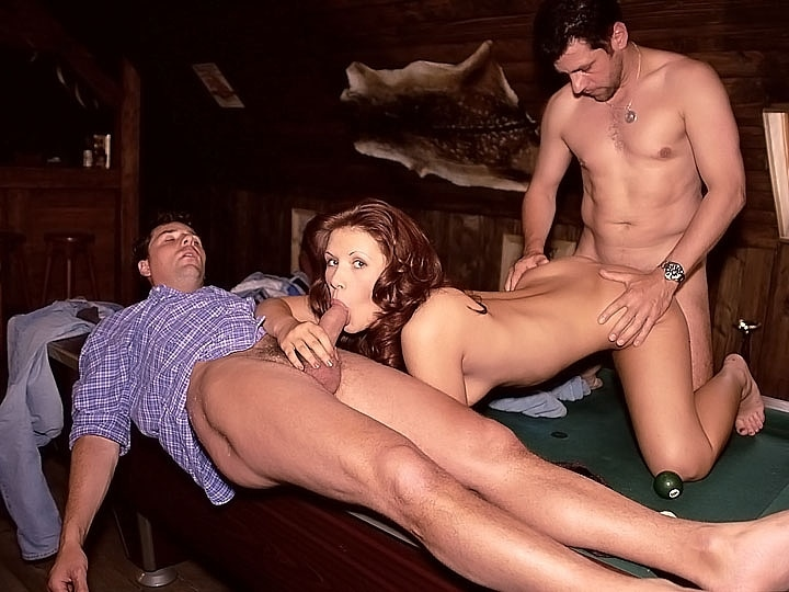 Adele, Threesome over the Pool Table