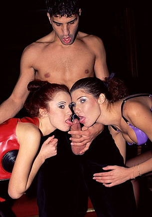 Carol Rouge & Karen in a Fetish Anal Threesome