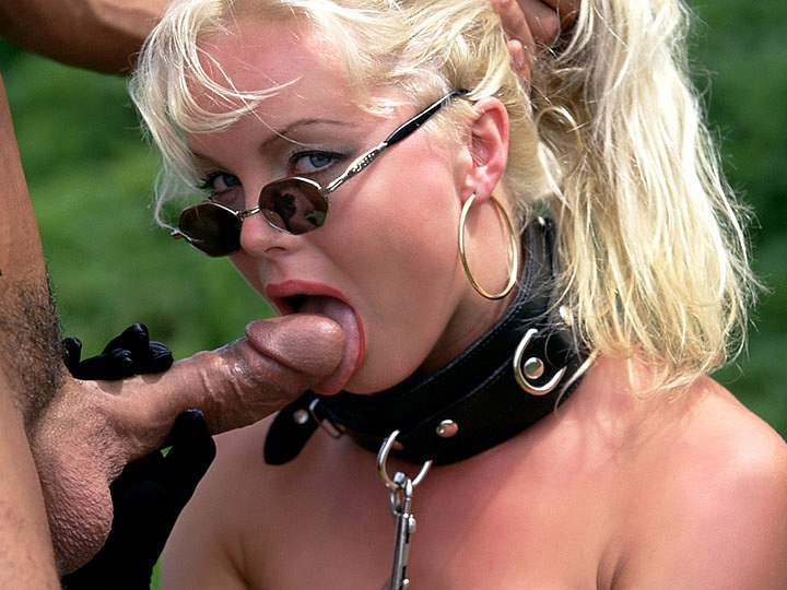 Blondes Missy and Silvia Saint Suck Dick and Get Anal Fucked Outdoors