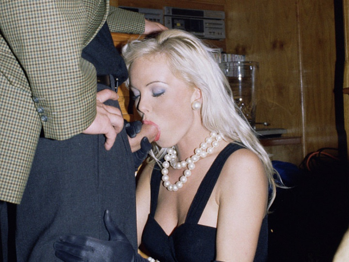 Private video: Silvia Saint Sucks a Cock at a Party While Everyone Watches