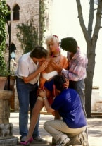 Andrea Clark's come orgy - thumb 1