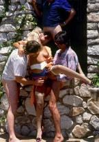 Andrea Clark's come orgy - thumb 2