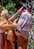 Andrea Clark's come orgy - thumb 3