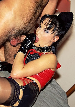 Agness Grimaldi, Fetish and Anal Addict