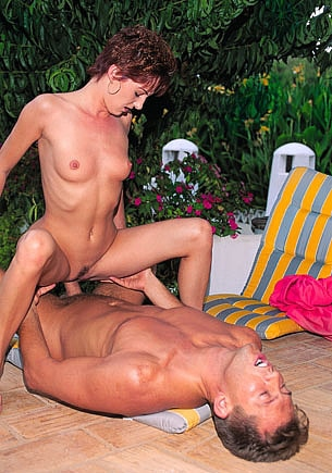 Diana Wants Anal Sex in the Terrace