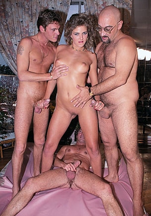 Roxanne Hall in a Gangbang