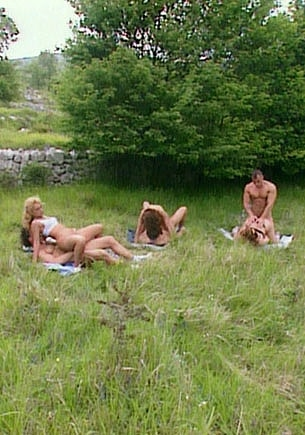 Orgy Over the Grass