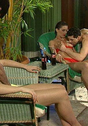 Central Bath, Orgy with Betty & Olivja