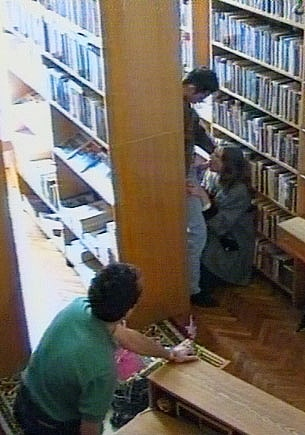 Lolita, Ganbang in the Library