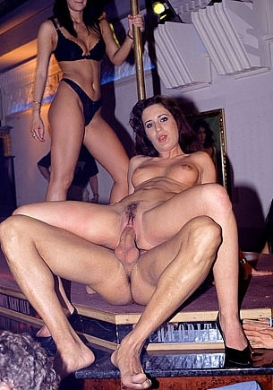 Clarisse & Katalin, Anal Orgy in the Night Club