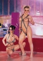 Justine de Sade vs Carla, Mud Wrestling - thumb 1