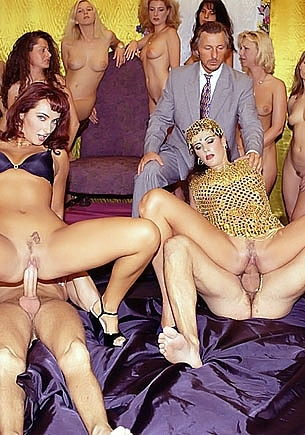 Kathy Kash & Katarina Martinez, DP Orgy in the Harem