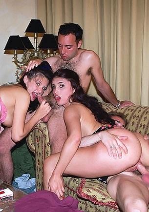 Jenny & Susanna in an Orgy