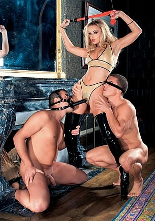 Liliane Tiger and her Slaves