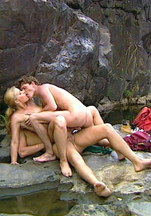 Betty Anderson, Double Vaginal in  the Blue Lagoon