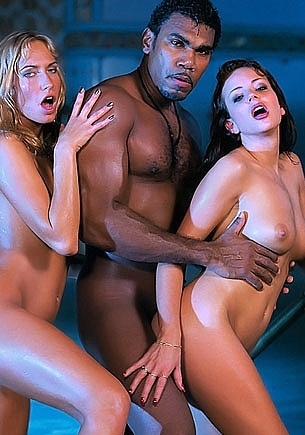 Kate More & Sophie Evans in an Anal Interracial Threesome