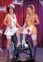 Oceane & Justine de Sade XXX Nurses - thumb 1
