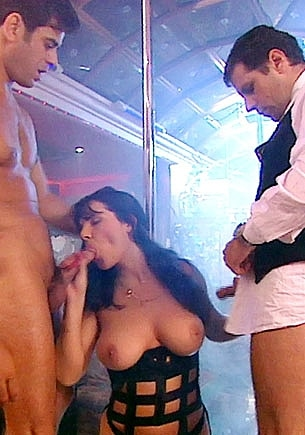 Cristina Dark Gets a Threesome