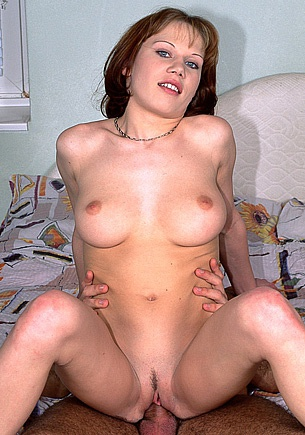 Newbie Lena Shows off Her Big Natural Tits and Gets Laid Too