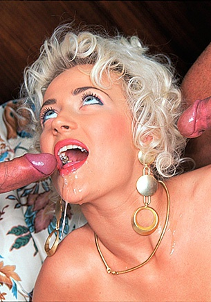 Elena the Sexy Anal Virgin is DP'd and Throat Fucked.