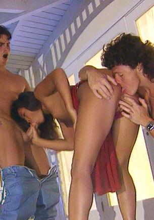 Zana Sun, Asian Whore in an Anal Threesome