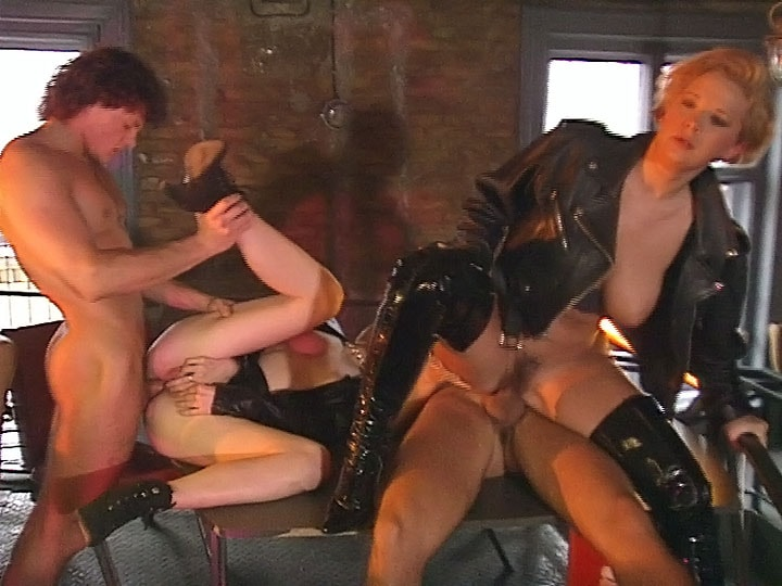 Orgy anal sex